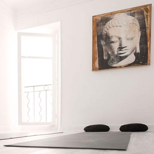 CALM: Salle de yoga